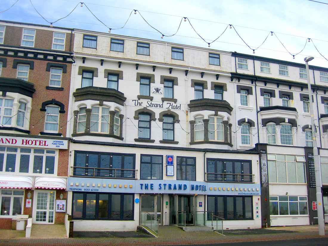 Freehold Hotel For Strand Blackpool Lancashire